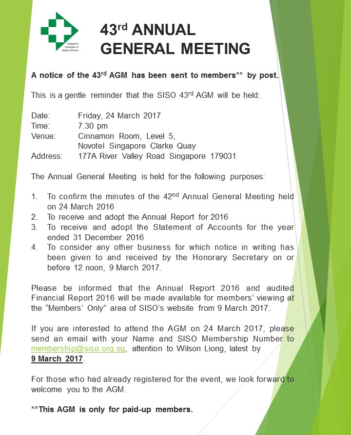 notice of an annual general meeting I look forward to welcoming you to bp's 109th annual general meeting (agm) at the manchester central convention complex, on monday 21.